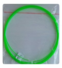 Filament ABS fluo świecący w nocy fluorescencyjny do długopisów 3d 1,75 mm 5m zielony